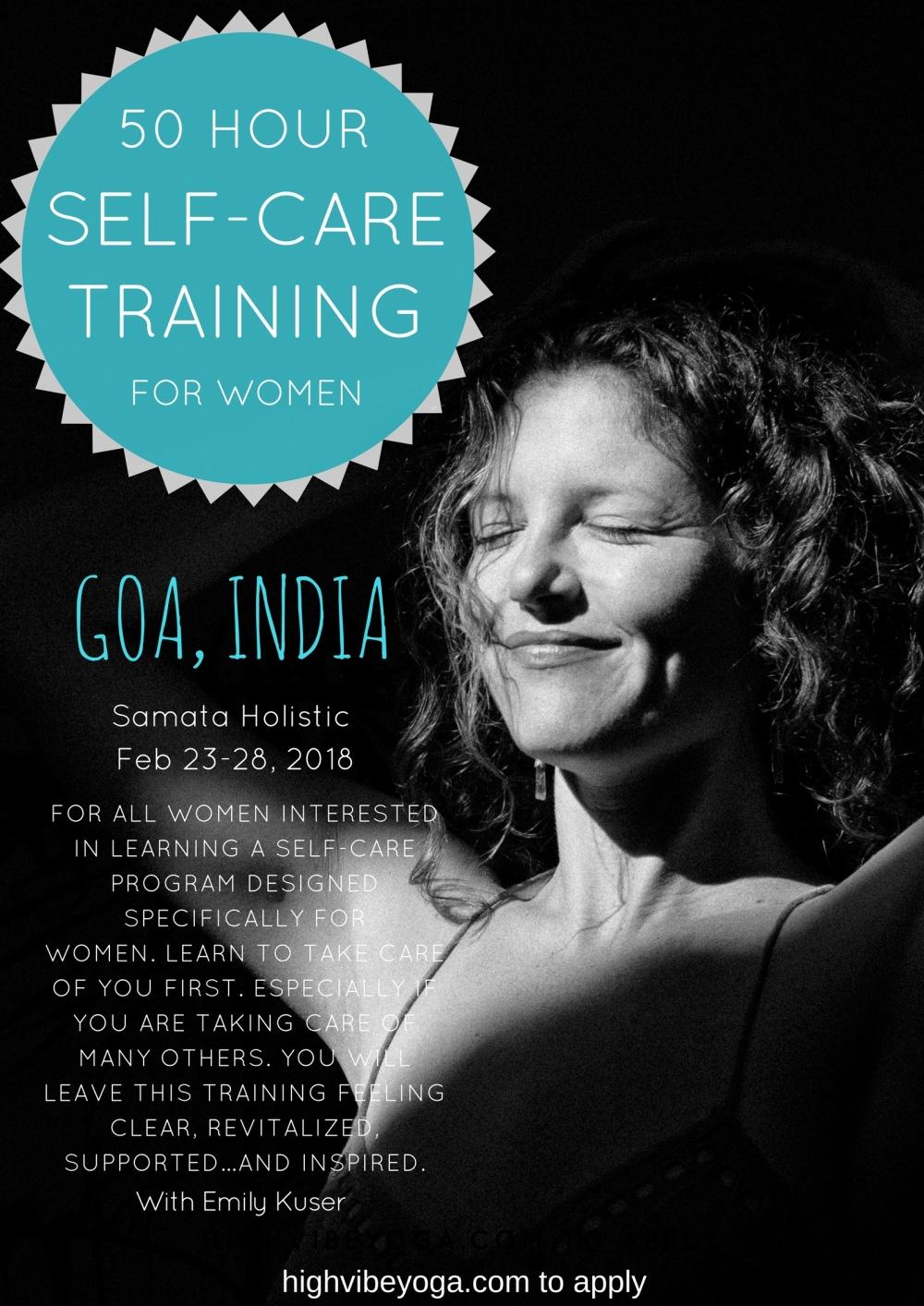 Copy of 50HOUR Self Care Trainingfor women